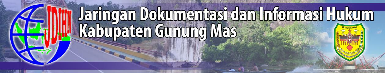 JDIH Kabupaten Gunung Mas